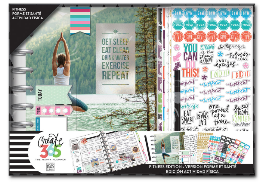 I love using this fitness planner kit